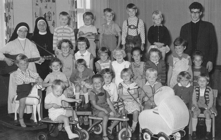 Kindergartenbeginn August 1960