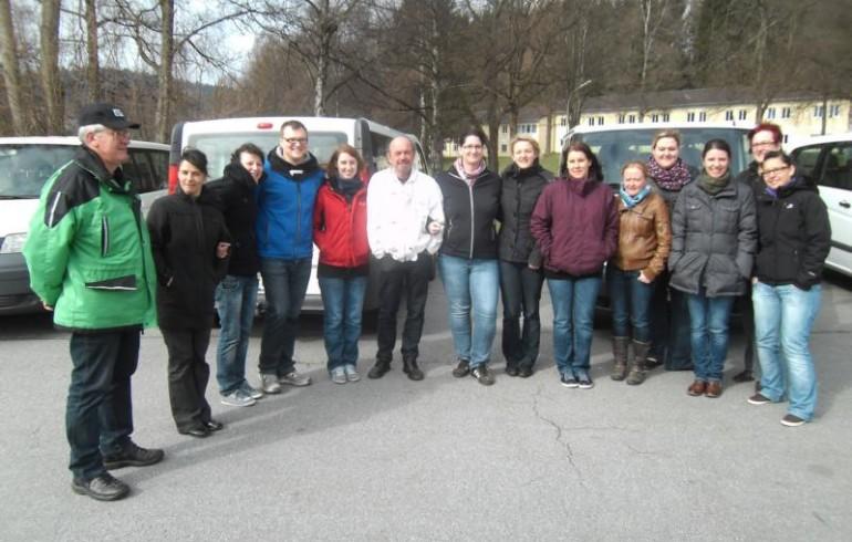 Die Teilnehmer vom 14.04.2012